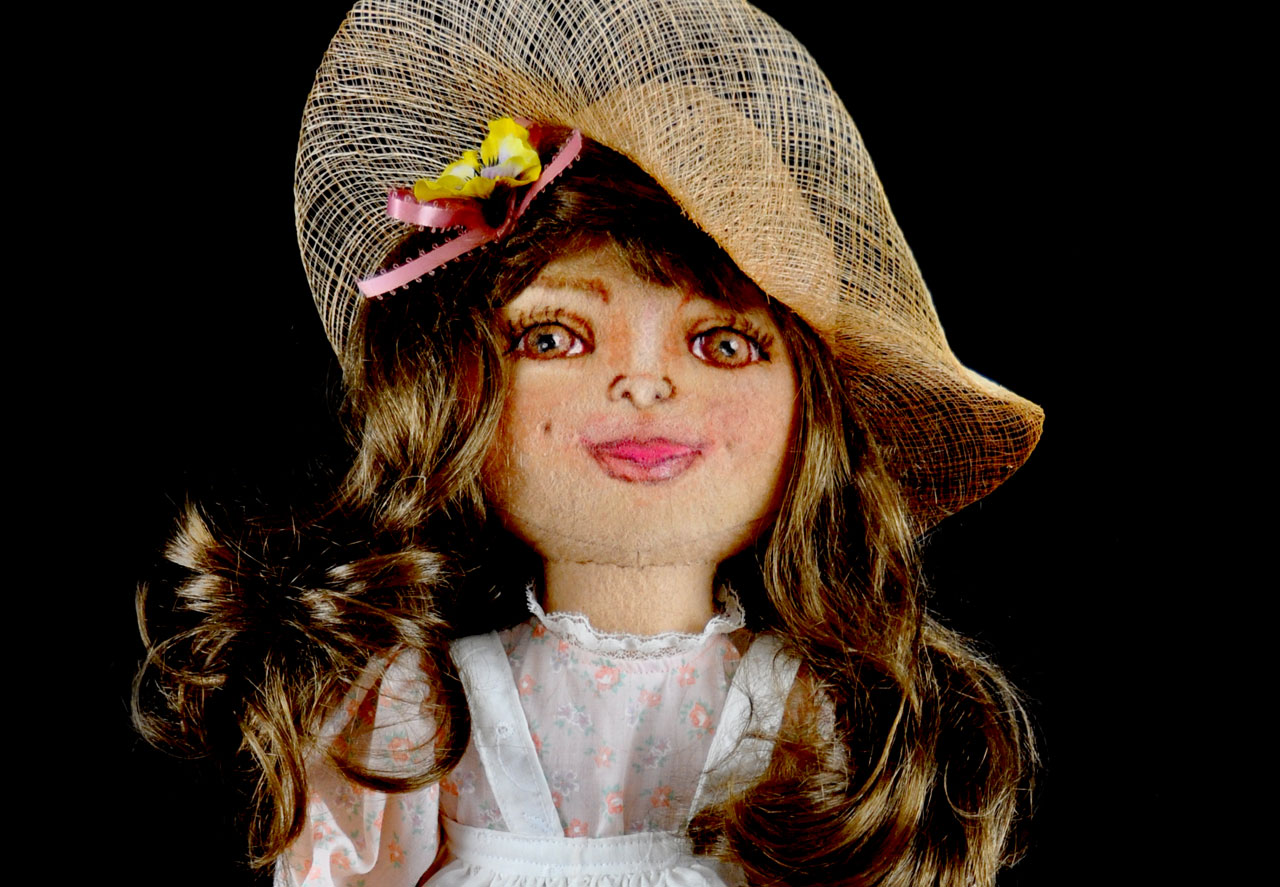 Petticoat Cloth Doll