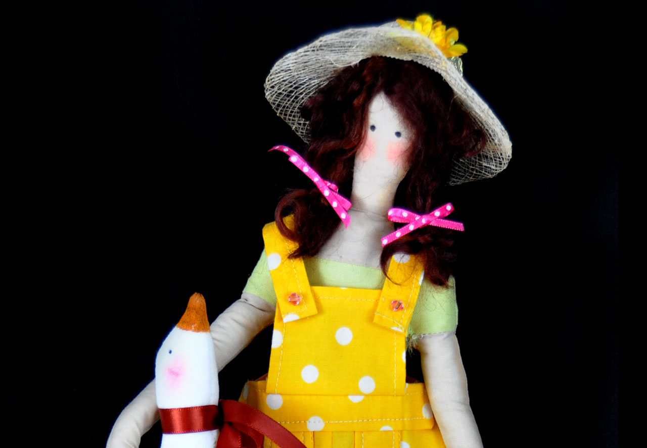 Tilda Animal Lover Doll